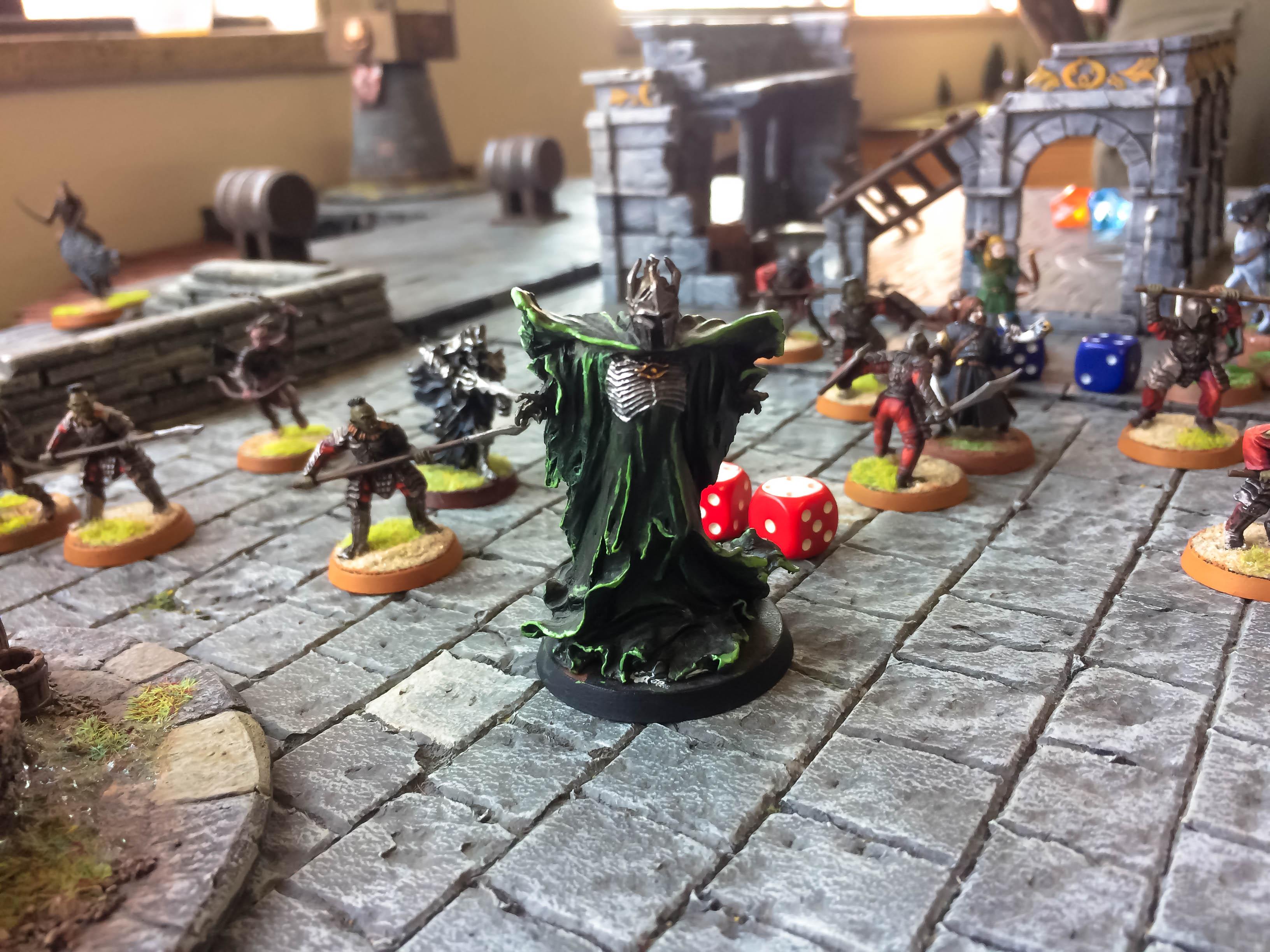 Miniatura Sauron para wargame